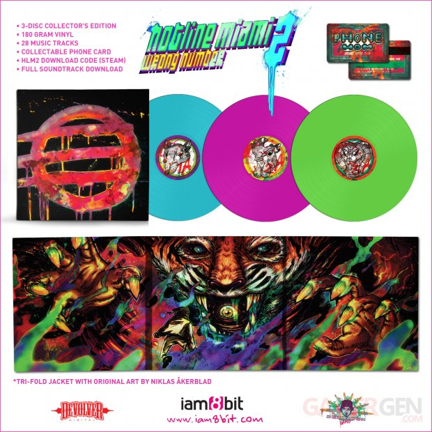 Hotline Miami 2 Vinyl Collect Edition