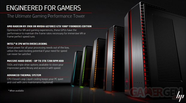 HP Omen Tours 2016