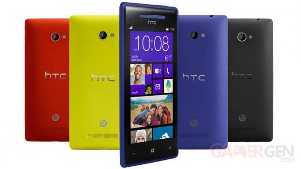 HTC 8X 640