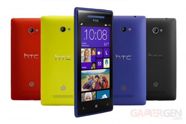 HTC 8X Windows Phone 1