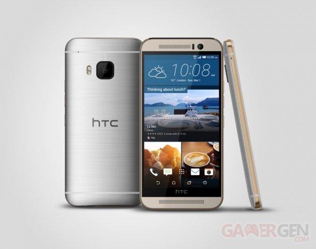htc one m9 silver 3v 1