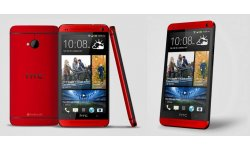 htc one rouge red glamour