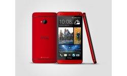 HTC One Rouge visuel