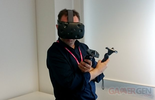 HTC VIVE PREVIEW LONDRES