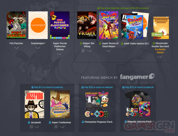 humble bundle weekly