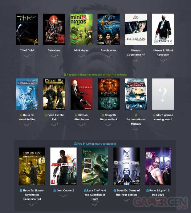Humble Square Enix Bundle