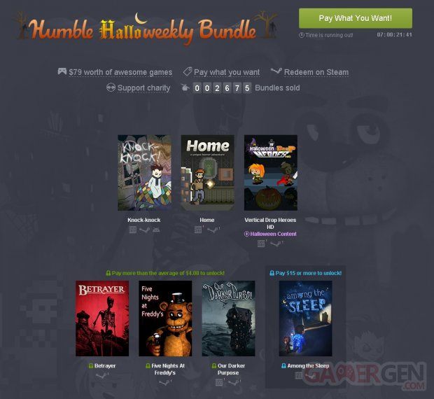 Humble Weekly Halloween