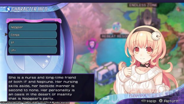 Hyperdimension Neptunia Rebirth 2 Sister Generation mages 3