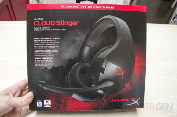 HyperX Cloud Stinger Casque Gaming Audio Test Note Avis Review GamerGen com Clint008 (1)