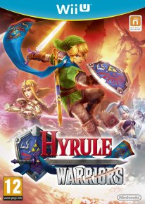 Hyrule Warriors PEGI jaquette WII U