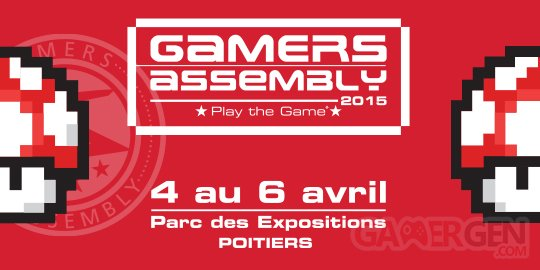 i22216 Gamers Assembly le plus grand evenement francais de jeux video a Poitiers du 4 au 6 avril 2015