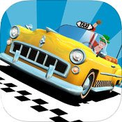 icone crazy taxi city rush