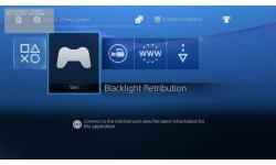Interface PS4 menu 08.08.2013