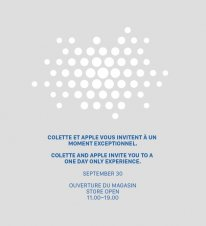 invitation apple watch colette
