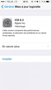 ios 8 3 changelog patch note