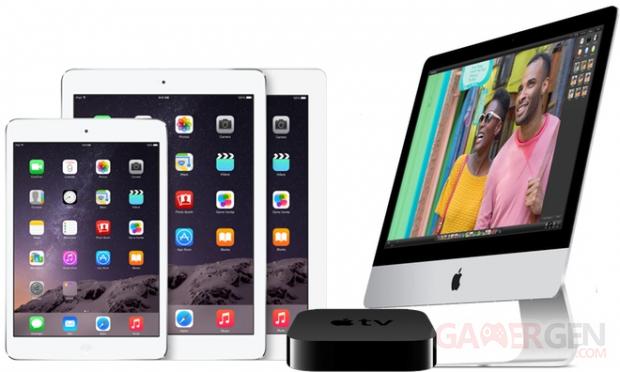 ipad apple tv imac