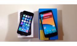 iPhone 5s Nexus 5 comparaison