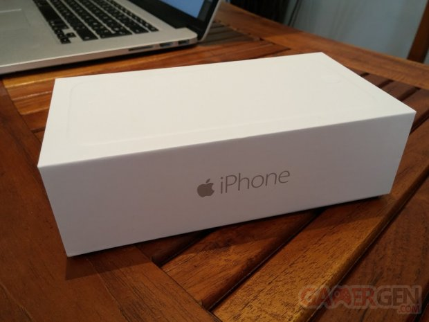 iphone 6 deballage unboxing gamergen  (2)