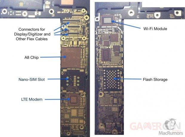 iphone 6 logic board annotated