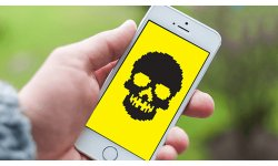 iphone hack skull malware