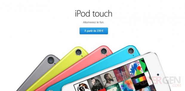 ipod touch prix rehausse