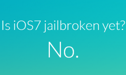 Is iOS 7 jailbroken yet