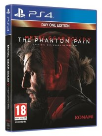 jaquette MGS V The Phantom Pain PS4