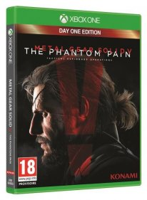 jaquette MGS V The Phantom Pain xBOX oNE