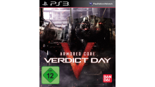 Jaquette PS3 Armored Core Verdict Day