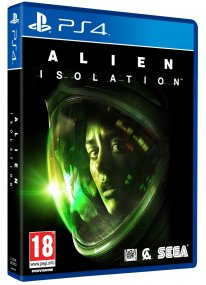 Jaquette PS4 Alien Isolation