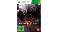Jaquette Xbox 360 Armored Core Verdict Day