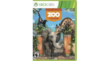 Jaquette Xbox 360 Zoo Tycoon