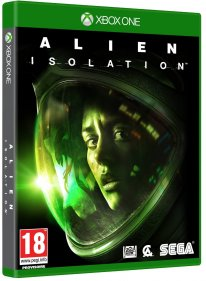 Jaquette Xbox One Alien Isolation