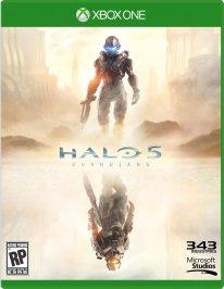 Jaquette Xbox One Halo 5 Guardians