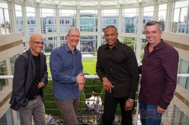 jimmy lovine tim cook dr dre rachat apple beats