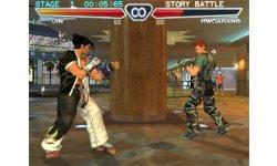 Jin Versus Hwoarang Tekken 4