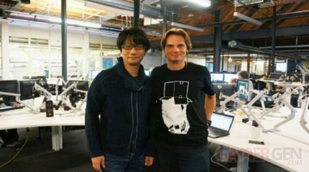 Julien Merceron et Hideo Kojima