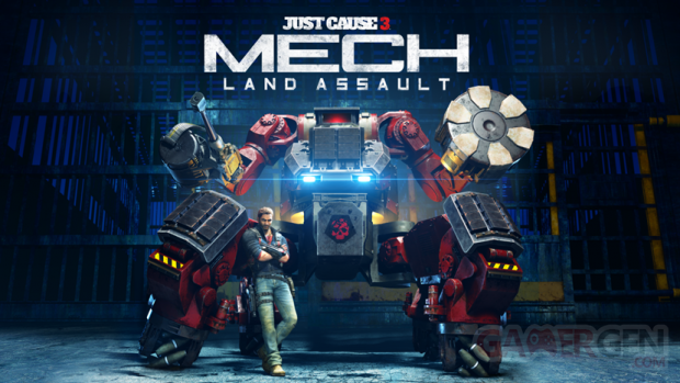 Just Cause 3 Mech Land Assault