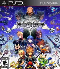 Kingdom Hearts 2 5 HD ReMIX jaquette US