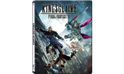 Kingsglaive Final Fantasy XV Jaquette Steelbook Cover Case