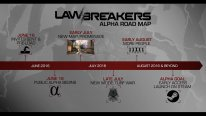 Lawbreakers alpha road map
