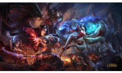 league of legends lol morgana vs ahri 4