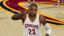 LeBron James NBA 2K16