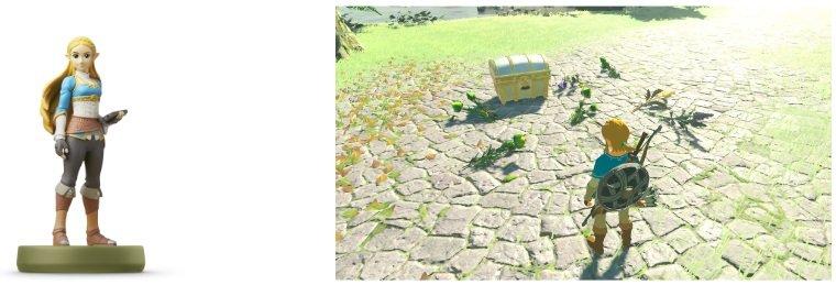 Image Legend Zelda Breath Wild Fonctionnalités Amiibo (3