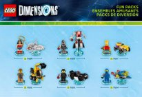Lego Dimensions Pack (3)