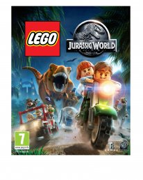LEGO Jurassic World artwork jaquette