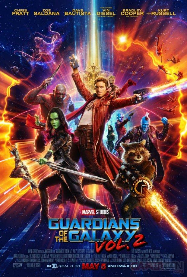 Les Gardiens de la Galaxie Vol 2 Affiche Poster