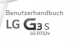 lg g3s mini manuel