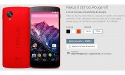 LG Google Nexus 5 boutique appareils Google Play Store