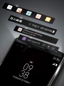 LG V10 double écran